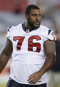 Duane Brown, OLT of the Houston Texans
