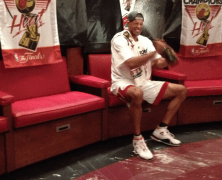 Battier's 'Frivolous' Celebration