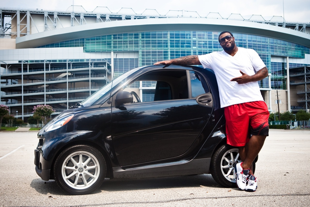 Brown Houston Texans Texans Duane Brown in a Smart