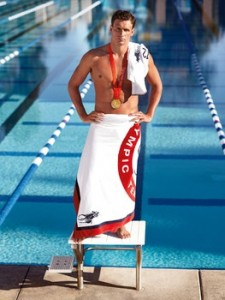 Ryan Lochte, photo courtesy of Ralph Lauren