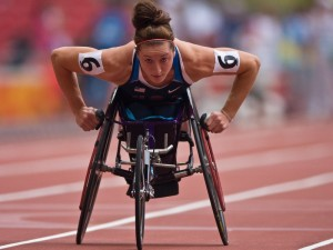 Tatyana McFadden | Photo Courtesy of Joe Kusumoto