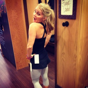 The Blonde Side's lululemon Fit Session