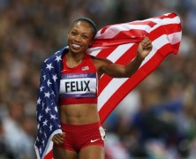 Music With Olympic Gold Medalist Allyson Felix