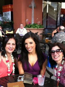 HTC Vanessa with family at Pro Bowl 2013