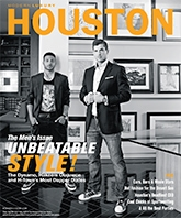Houston Modern Luxury Magazine: The Write Stuff featuring The Blonde Side