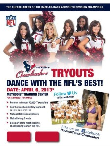 HTC Cheerleader Tryout Tips