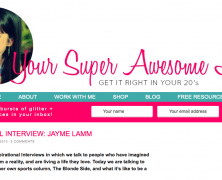 Your Super Awesome Life Interview