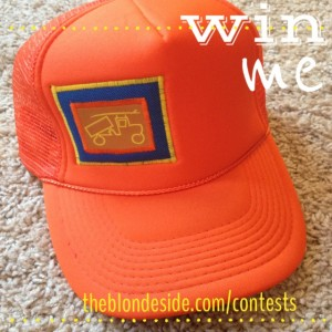 bigtruck Giveaway from The Blonde Side