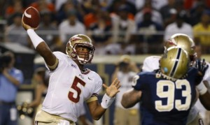 Jameis Winston debuts at Pitt (photo courtesy of Sportige.com)