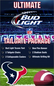 Win this Ultimate Tailgate Package from Bud Light & The Blonde Side