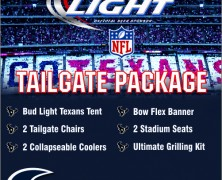 Ultimate Tailgate Package from Bud Light