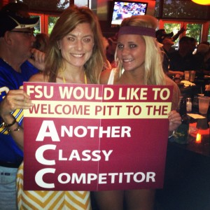 FSU Welcoming Pitt to the ACC