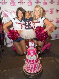 Houston Texans Cheerleaders with Kyssi Andrews (Photo by Micahl Wyckoff)