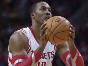 Dwight Howard having trouble from the charity stripe