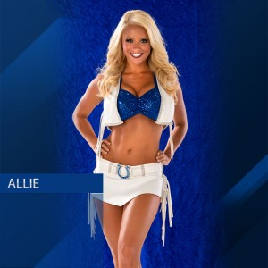 Allie J from the Colts