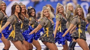 Yay for Colts Cheerleaders!
