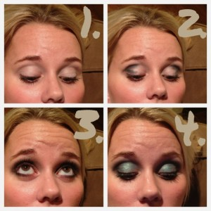 How-To: NFL Glam: Philadelphia Eagles Game Day Eyes