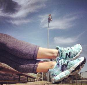 Heidi Klum New Balance Product Review: GOLD