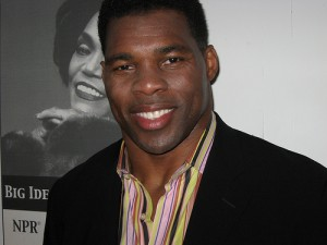 Herschel Walker is all smiles here