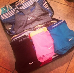 Pack light, thanks to Nike Pro available at Zappos
