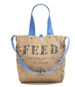 FEED bag - the perfect carry-on - looking good AND doing good!