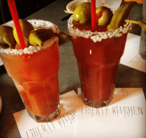 Bloody Mary Brunch at Liberty Kitchen