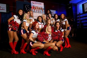 Texans Cheerleader 2014-15 Swimsuit Calendars unveiled (Photo: Miguel Sada)