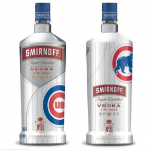Smirnoff's first-ever team branded bottle goes to...