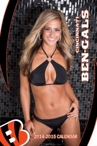 Ben-Gals calendar covergirl Lauren talks to The Blonde Side in the 2014-2015 NFL Cheer Series Presented by ShockTop