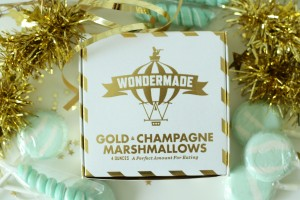 Make the holidays happier with these champagne marshmallows