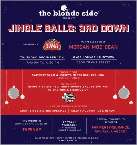 Jingle BALLS - Houston's best holiday part/charity event