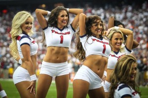 Those Houston Texans Cheerleaders (HTC) are reason enough for Texans fans to cheer