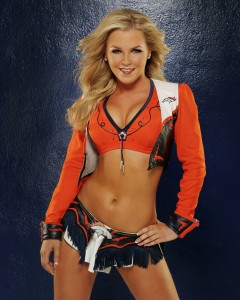 Emily G. is definitely a good reason to brave the cold winter football season!