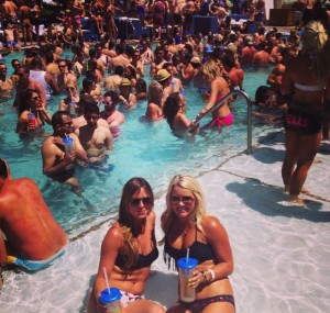 Vegas Day Club, Day 1 (not so bad, right?)