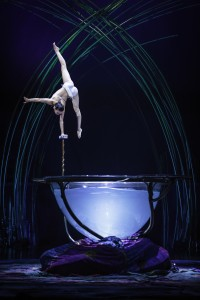 Waterbowl act at Cirque du Soleil Amaluna