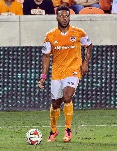 Houston Dynamo MVP, Giles Barnes (photo courtesy of Houston Dynamo)