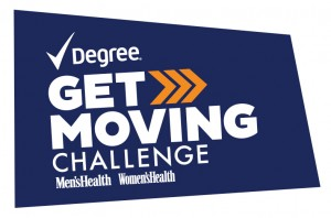 Degree Get Moving Challenge with Women's Health
