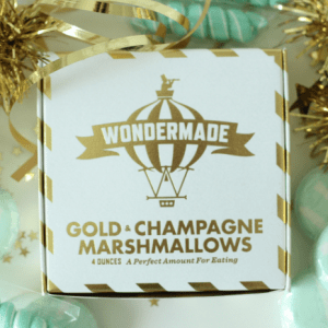 Wondermade Gold & Champagne Marshmallows (available at shopthemanor.com)