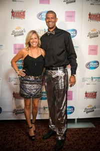 Heidi and Shane Battier at Clutch City Battioke (Photo courtesy: Storyteller Photography)