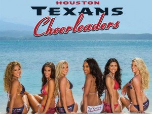 Houston Texans Cheerleader 2015 - 2016 Calendar