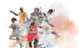 Houston sports illustration - by German Arellano