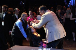 Pro Football Hall of Famer Bruce Matthews Crowning Kings and Queens of the Prom