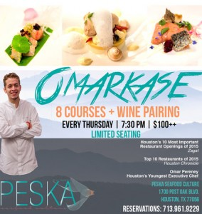 OMARKASE - Houston's Thursday night dinner spot!