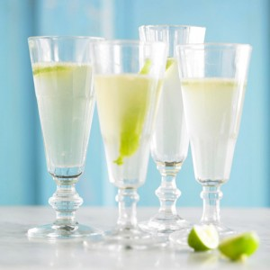 Sparkling Margarita Recipe via bhg