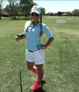 The Blonde Side at Pearland Golf Club at Country Place | Outfit: Lizzie Driver