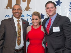 Herm Edwards, Jayme Lamm & Travis Frey (©Troy Fields)
