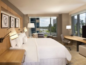 Inside a room at the new Westin at The Woodlands. Photo: The Westin at The Woodlands