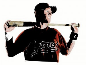 Craig Biggio | Illustration by German Arellano