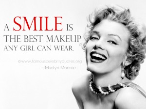 smile-quote-by-marilyn-monroe